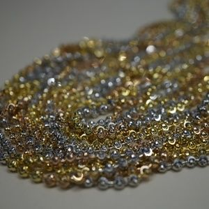 Jewelry - *HOST PICK* .925 Sterling Silver 3 Color Necklace